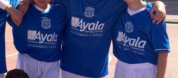 Camiseta patrocinio Limpiezas Ayala