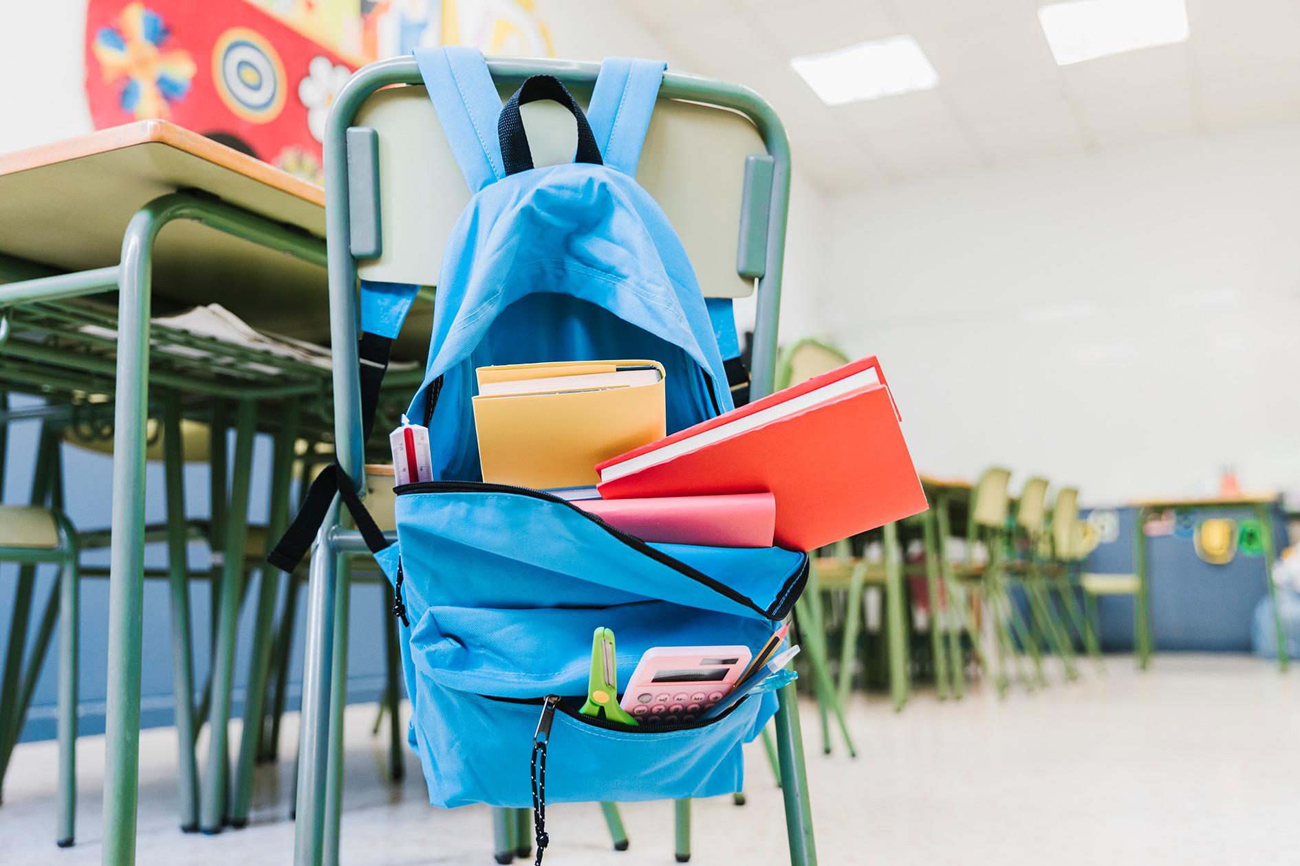Limpieza y desinfección en las aulas